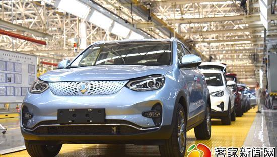 赣州智造新能源SUV及商用车整车下线发布