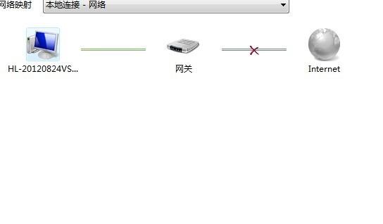 追问:这是移动宽带,只有一根网线进户连接电脑