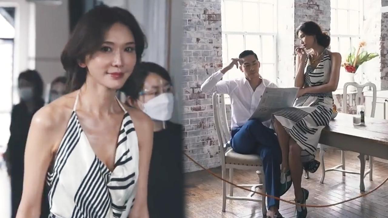 林志玲罕谈婚后生活,直言全身为家庭付出,坐老公腿上拍照秀恩爱