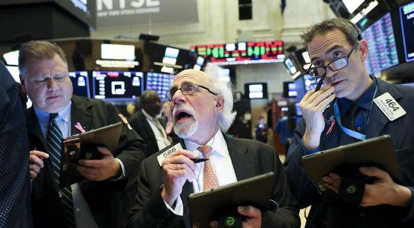 纽约股市三大股指20日涨跌互现