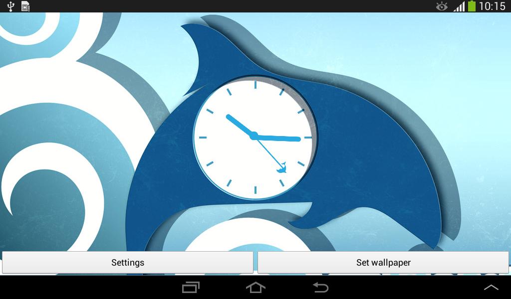 海豚时钟 是一款自定义构建的OpenGL 动态墙纸,拥有100%独特的图形!这款Live Wallpaper不会消耗您的电池电量。使用方法:1. 打开Live Wallpaper2. 点击设置Live Wallpaper按钮3. 点击设置墙纸按钮以应用,或者点击设置按钮自定义您的Live Wallpaper美丽的色彩和惊人的海豚造型让你的设备屏幕上我们的新动态壁纸看起来真棒。立即下载海豚时钟和乐趣。功能:* 低电量/OpenGL技术!这款Live Wallpaper是自定义构建和本机编码的,为极