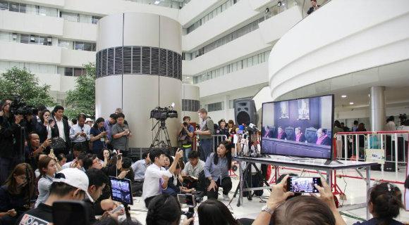 泰国宪法法院判令解散泰护国党