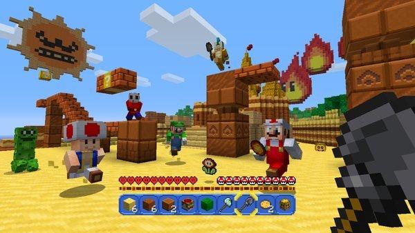 《我的世界》WiiU版将更新马里奥扩展包