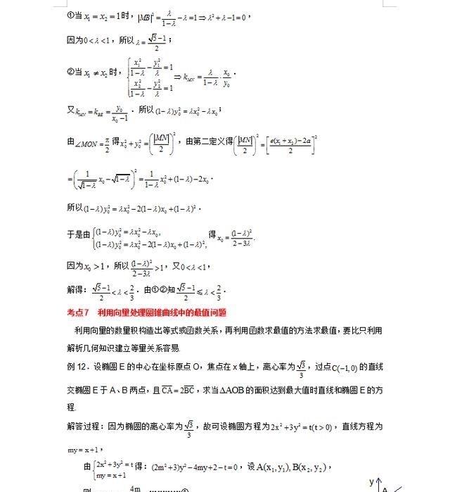 数学高中:解析几何寝室吃透,逢考必出,汇总比盲高中女生达州题型图片