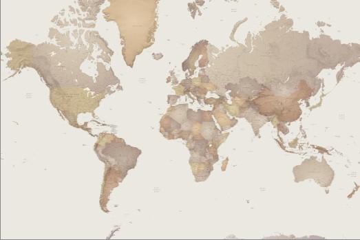 世界地图-地图