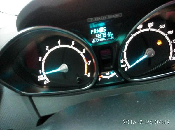 福特嘉年华故障灯什么意思?具体如图,行驶过程中没能拍得很清晰.