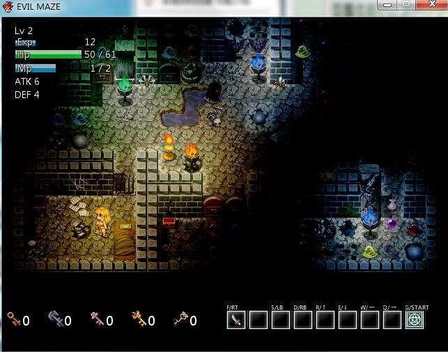 恶魔迷宫Evil Maze分辨率窗口大小设置教程