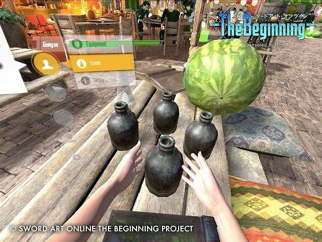 VR-MMO企划《刀剑神域:The Beginning》画面首曝光
