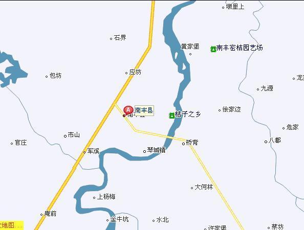江西省南丰县太和镇地图
