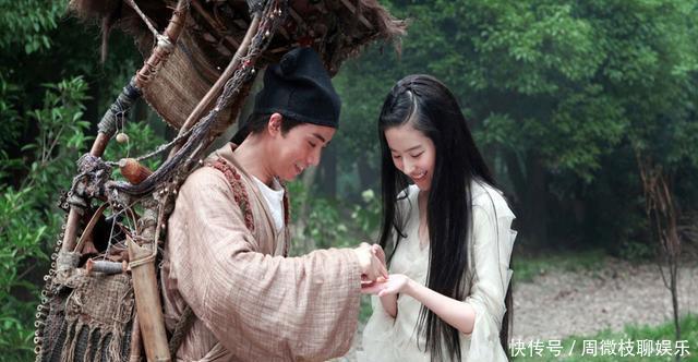电影中饰演狐妖的演员,周迅魅惑,刘亦菲两次饰演的狐妖都不同