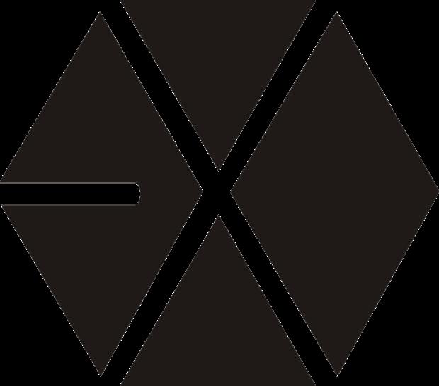 exo个人的标志过程怎样画