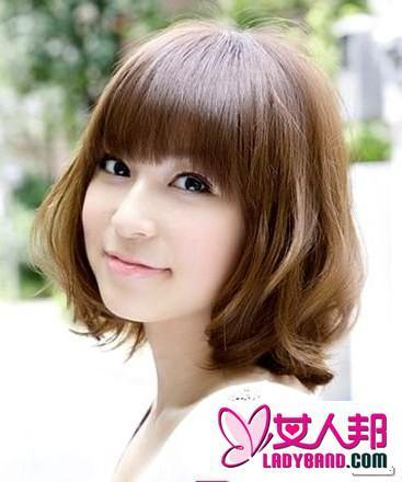 初中生短发发型