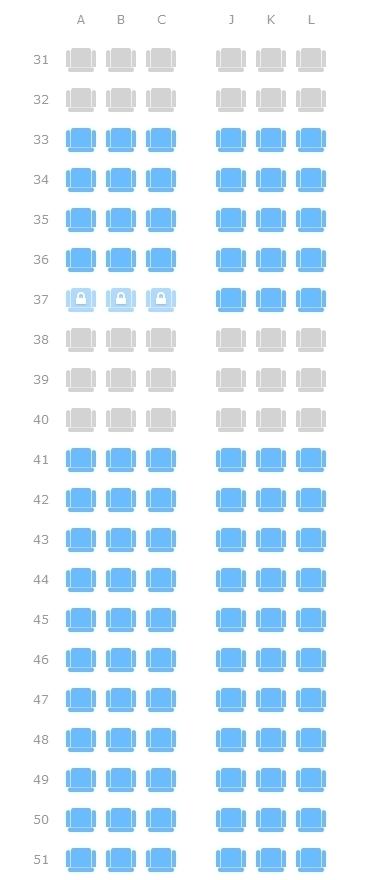 请大家帮忙分析哪个座位好