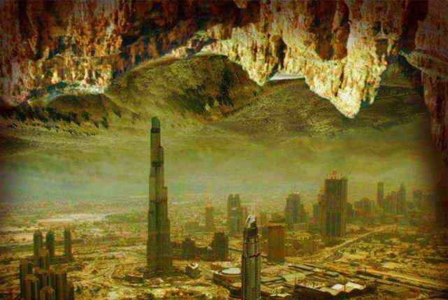 地心世界真的存在吗为何人类能探索太空,却窥探不了地底