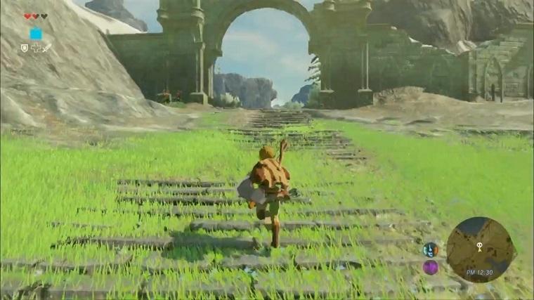 《塞尔达传说:荒野之息》游戏画面