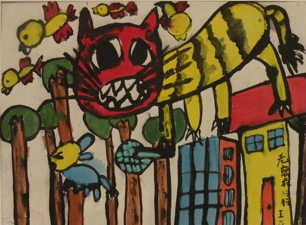 幼儿园大班画老鼠怎么画