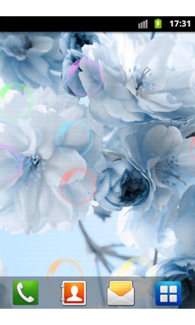 这是款漂亮花朵动态壁纸
