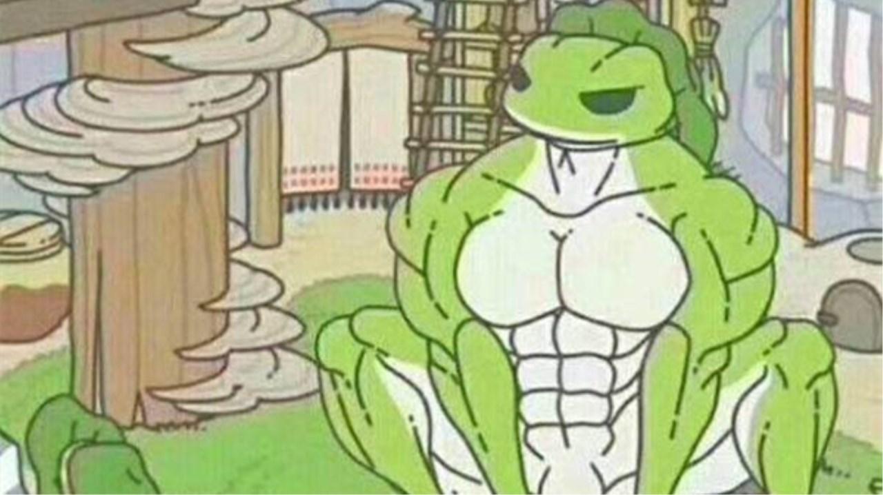 《旅行青蛙》遇上天津话,蛙儿子旅游背后的真相,有点扎心了