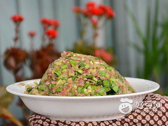 猪肉白菜韭菜饺子馅最正宗的做法