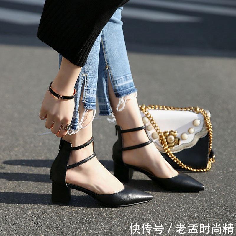 <b>今年刚上市就火了的女鞋, 漂亮女人见了都走不动道, 女鞋不能缺席</b>