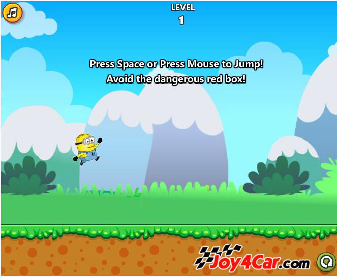 superpads小跳蛙谱子-小黄人跳跃跑酷
