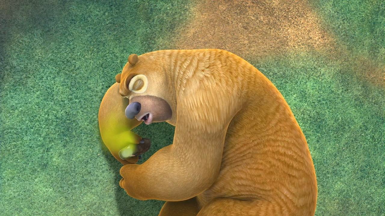 光头强脚太臭,熊二还以为是臭咸鱼!