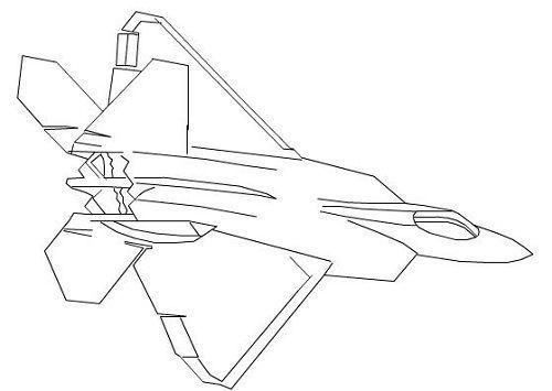 十款经典战机简笔画,你能猜出几架的型号 答对也没奖哦 原创