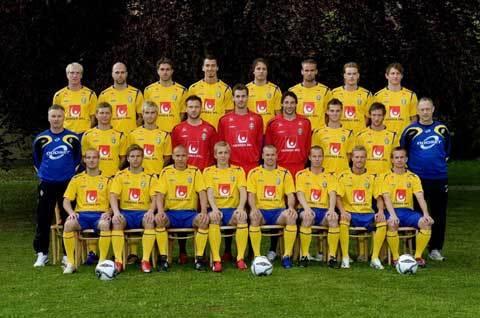 瑞典国家男子足球队图片