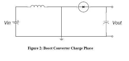 当开关断开(三极管截止)时,由于电感的电流保持特性,流经电感的电流不