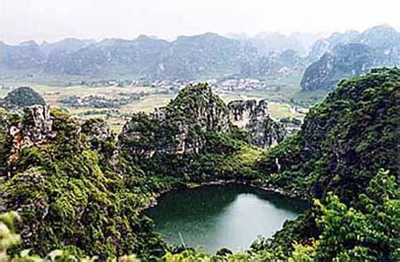 天池-广西武宣县马步乡湖泊