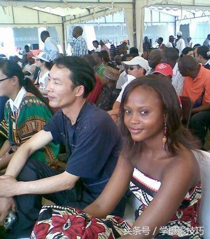 实拍娶非洲女子为妻的中国男子 -  - 真光 的博客