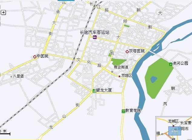 双塔区地图