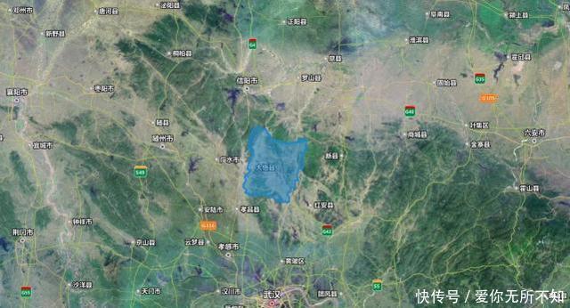 湖北孝感面积最大的县,拥有一座高铁站,武汉坐高铁到这仅半小时