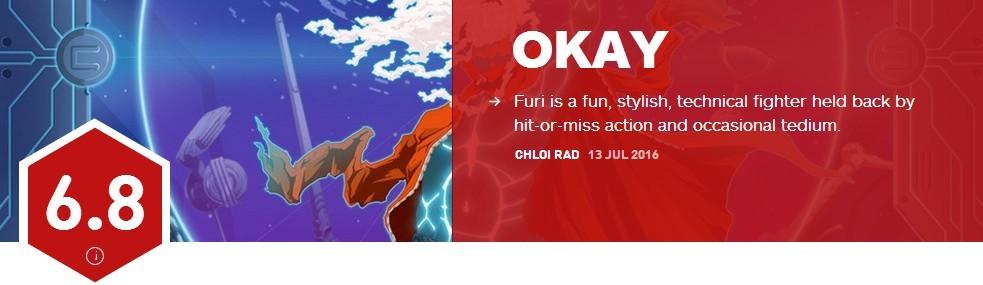《Furi》IGN评分6.8