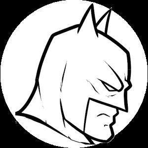 蝙蝠侠简笔画图片大全