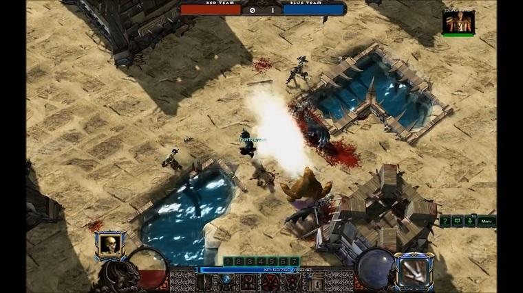 《暗黑破坏神2》玩家重制版游戏截图