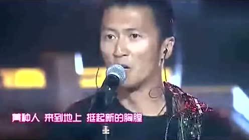 谢霆锋再次热血献唱黄种人,中国好声音四位导师合唱就更棒了