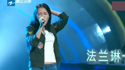 中国好声音:20岁姑娘从没有学过唱歌,一首《追梦赤子心》惊艳导师!