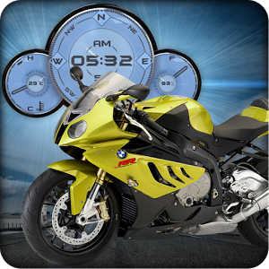 BMW S1000RR Moto Widget HD LWP