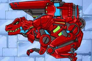 组装机械恐龙,组装机械恐龙小游戏,360小游戏