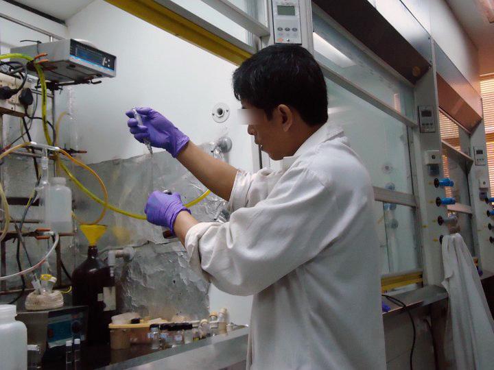 毒杀金正男的朝鲜籍嫌犯在实验室画面曝光