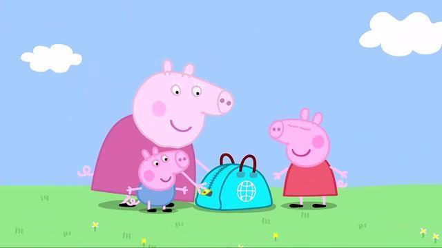 可爱卡通小猪佩奇高清壁纸图片(2)