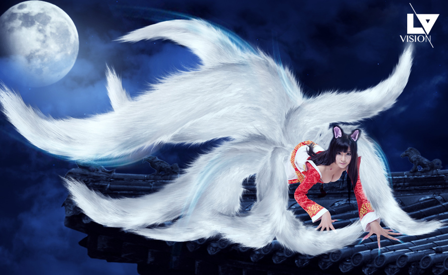 九尾狐 东亚神话传说奇兽