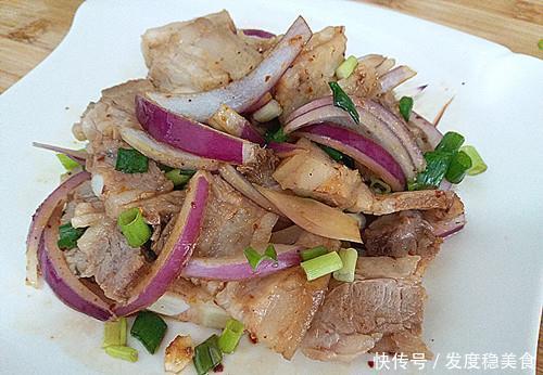 夏天,五花肉最好吃的做法,简单一拌,爽口不腻,特下饭!