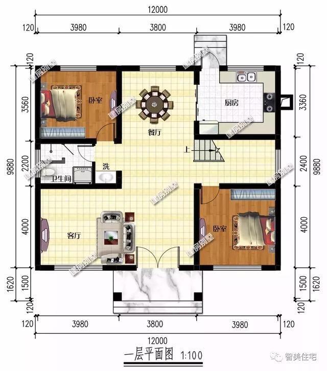一栋魅力很大的两层别墅别墅,让无数建房人为9.5图纸米v魅力农村10乘图片