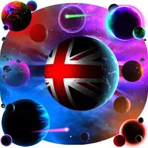 England Flag Universe