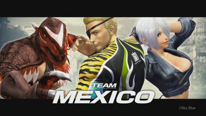 《拳皇14》墨西哥队新宣传片