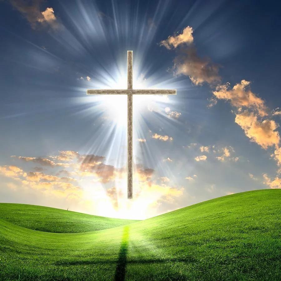 耶稣十字架壁纸免费