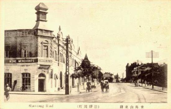 山东路旧景