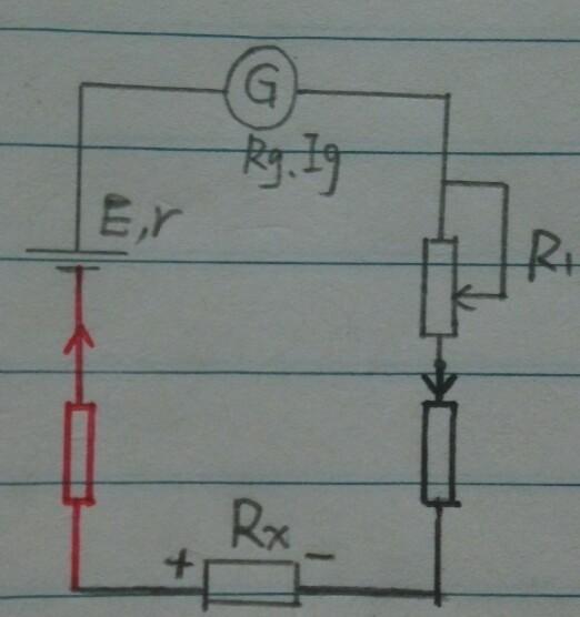 在电阻档时万用表使用表内电池,对外部电路来说,黑表笔相当于电源正极